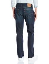Levi's Strauss 505 Men's Cotton Straight Regular Fit Stretch Jeans 505-1431 image 2
