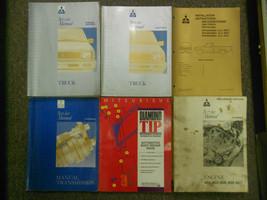 1992 1994 Mitsubishi Truck Service Repair Shop Manual Factory Oem Book 6 Vol Set - $267.25