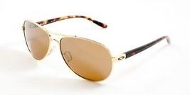 Oakley Sunglasses Feedback OO4079-04 Polished Gold Frames Tungsten Lens ... - $88.53