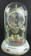 Thomas Kinkade Anniversary Clock w/ Westminster Chime Heading Home 2004 ... - $42.04
