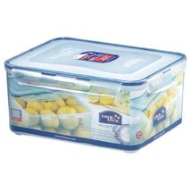Lock&Lock 220-Fluid Ounce Rectangular Food Container with Tray, Tall, 27-Cup - $65.33