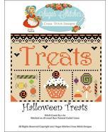 Halloween Treats cross stitch chart Sugar Stitc... - $7.00