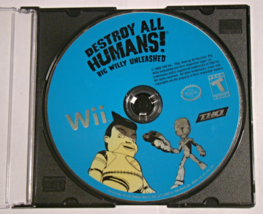 Nintendo Wii - DESTROY ALL HUMANS! BIG WILLY UNLEASHED (Game Only) - $6.50