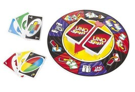 UNO Spin Card Game Free Shipping From India - $49.99