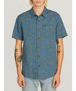 Volcom Psych Dot Short Sleeve Indigo M - $65.00