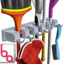 2017 Berry Ave Broom/Mop Holder and Garden Tool/Rake Organizer Up To 1.2... - $21.29 CAD
