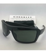 New OAKLEY Sunglasses DOUBLE EDGE OO9380-0166 Matte Black Frame with Gre... - $134.95