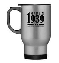 Vintage Made In 1939 Travel Mug Best 79th Birthday Gifts Tees - $21.99