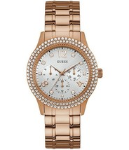 Guess Ladies Watch Bedazzle Multifunctional W1097L3 - £150.70 GBP