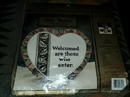 NEW Old World Collection #2704 Welcomed are those who enter [New] *torn ... - $14.80