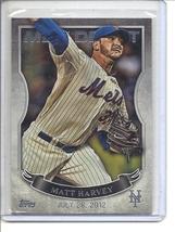 (b-30) 2016 Topps MLB Debut #MLBD-15: Matt Harvey - Silver - $1.50