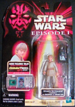 Star Wars Episode 1 Commtech Anakin Skywalkerl with Backpack and Grease Gun - $14.99