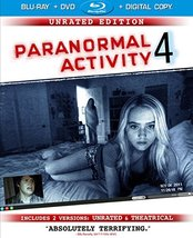 Paranormal Activity 4: Unrated (Blu-ray/DVD Combo) (2012)