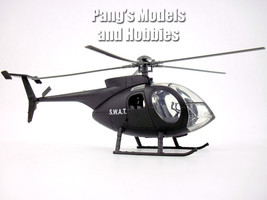Hughes 500 / Augusta NH-500 (SWAT) 1/32 Scale Diecast Metal Helicopter b... - $36.62