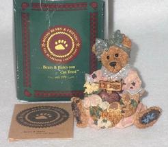 Boyd Bearstone Resin Bears Justina The Message Bearer Figurine #2273 27E NEW image 7