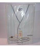 NEW Vtg Size L Summer Short Mens Pajamas Diplomat Sleepwear Set Navy Blu... - $43.51