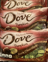 DOVE PROMISES Dark Chocolate Harvest Pumpkin Halloween Candy -3 PK  - $26.11