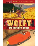 WOLFY THE INCREDIBLE SECRET DVD - $9.89