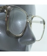 Reading Glasses Gray Smoke Clear Bold Statement Square Frame +3.00 Lens ... - $16.00