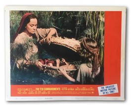 """TEN COMMANDMENTS"" ORIGINAL 11X14 AUTHENTIC LOBBY CARD PHOTO 1966 10 HESTON - $22.91"
