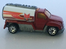 Matchbox Tanker Truck Red White Station 1 Fire Vehicle Emergency 2001 Loose Toy - $8.99