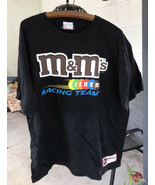 Elliot Sadler T Shirt M&M's NASCAR Ford Racing #38 XL Authentic On Track... - $24.75