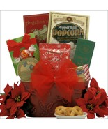 Tidings of Joy: Small Gourmet Holiday Christmas Gift Basket Great Arriva... - $46.99