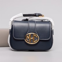 MICHAEL KORS COLLECTION Monogramme Small Calf Leather Shoulder Bag - $1,300.00