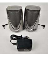 SONY SRS-A27 Desktop Personal Speakers w/2-Way Power Supply - $32.49