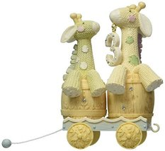 Enesco Foundations Collectible Baby Birthday Ark Age 3 Figurine Giraffe 4050143 - $25.00