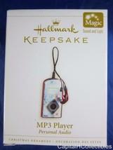 "Hallmark keepsake ""mp3 player-personal audio"" ornament 2006 Handmade - $9.18"