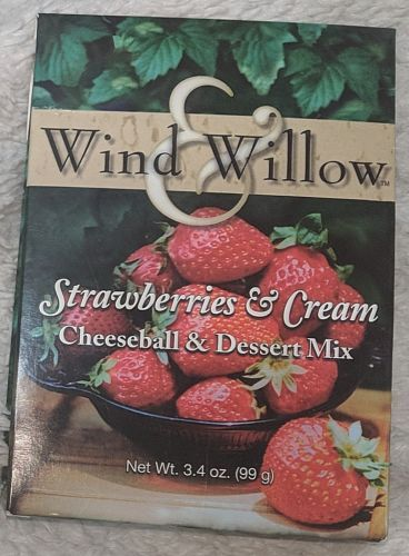 Wind And Willow Strawberries And Cream Cheeseball And Dessert Mix
