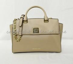 NWT Michael Kors 30S9LYLS2L Sylvia Medium Top Zip Leather Satchel/Shoulder Bag - $199.00