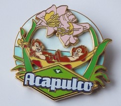 Disney Pin, Panama Canal Crossing 2008 Acapulco (Chip & Dale) LE of 1000 #64804 - $30.37