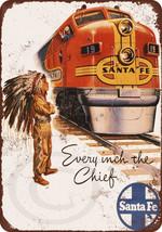 1948 Santa Fe Railroad Super Chief vintage look... - $14.72