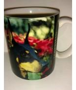 Dog Lover Doberman Pinscher Collectible Coffee Tea Mug Cup 1994 8 oz - $22.76