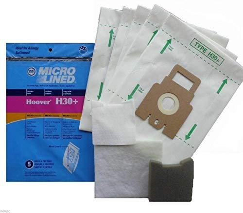 Primary image for DVC Hoover H30 40101001 Micro Allergen Vacuum Cleaner Bags Made in USA [ 70 Bags