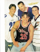 98 Degrees teen magazine pinup clippings Tiger Beat Nick Lachey Sport Jerseys