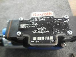 REXROTH DIRECTIONAL VALVE 4WE6D73-62/EG24N9DK24L/A12V/62 image 3