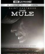 The Mule (4K UHD + Blu ray + Digital HD) 2019, w/ SLIP COVER ***FAST SHI... - $15.99