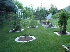 GE-7000 Garden Edging Lawn Landscape Molds (4) Make Stacked Concrete Walls Too image 2