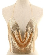 Metal Mesh Bra Chain - $27.00