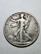 1933S Walking Liberty Half Silver Dollar LOT# W 1