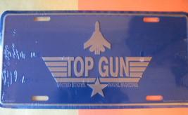 License Plate TOP GUN United States Naval Aviators - $7.90