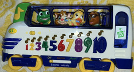 Leap Frog locomotive musical train/bus. Learn numbers to music, math games - $11.88