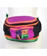 Vintage 1990s Fanny Pack Waist Bag Satchel Hip Neon Multi Color Triathlo... - $84.14