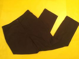 Womens Talbots Corduroy PANTS-STRETCH-DARK BROWN- Size 12 Stretch - $23.99