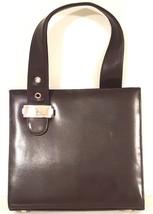 """ANNE KLEIN – Chocolate Brown Satchel Handbag - 9.5"""" x 8.5"""" - $58.71"""
