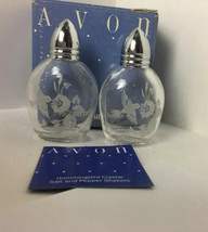 NEW AVON ~Crystal Hummingbird Salt & Pepper Shakers - $14.50