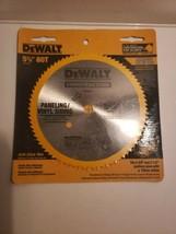 "Dewalt DW9053 5-3/8"" x 80 Tooth Paneling and Vinyl Cutting Steel Saw Blade - $8.99"